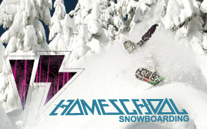 Homeschool Snowboarding
