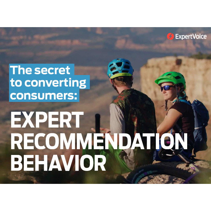 The secret to converting consumers ExpertVoice eBook