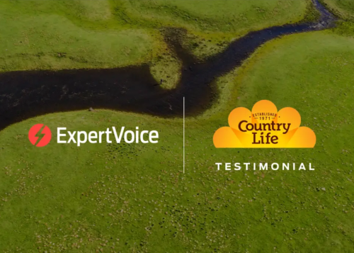 Country life and expertvoice logos